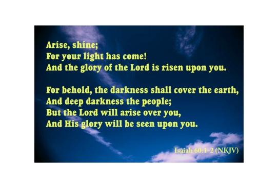 Arise, Shine