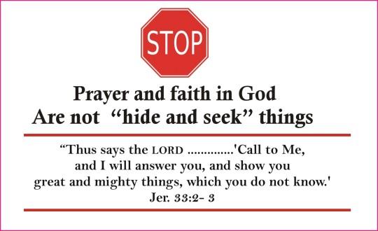 prayer and faith 1